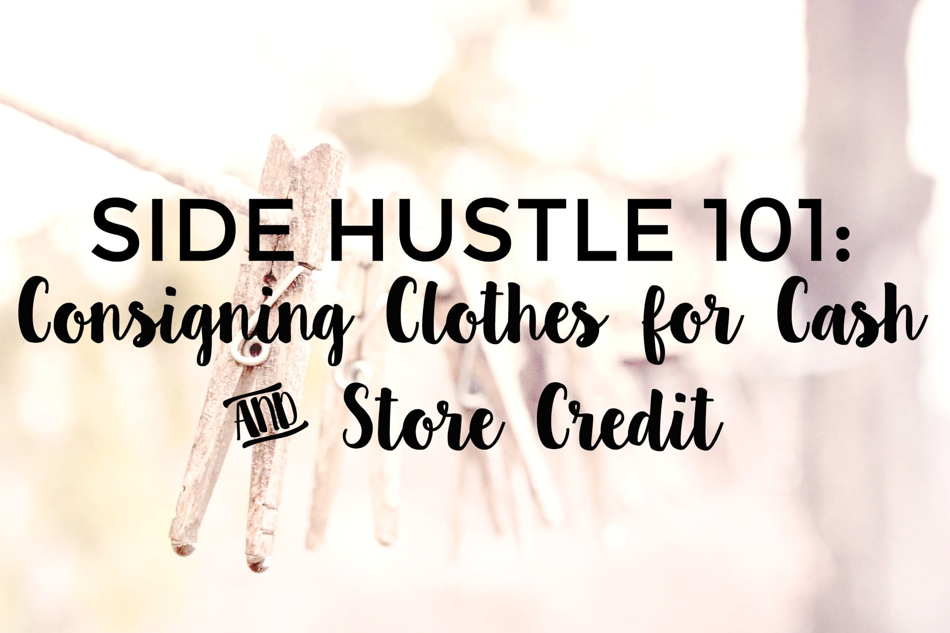 Clothing Consignment Tips for Extra Cash